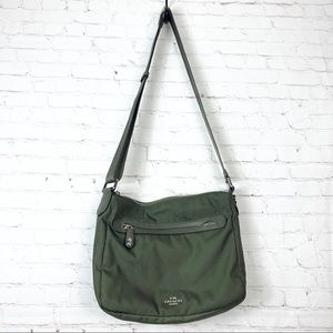 Coach Utility Nylon Crossbody Messenger Purse